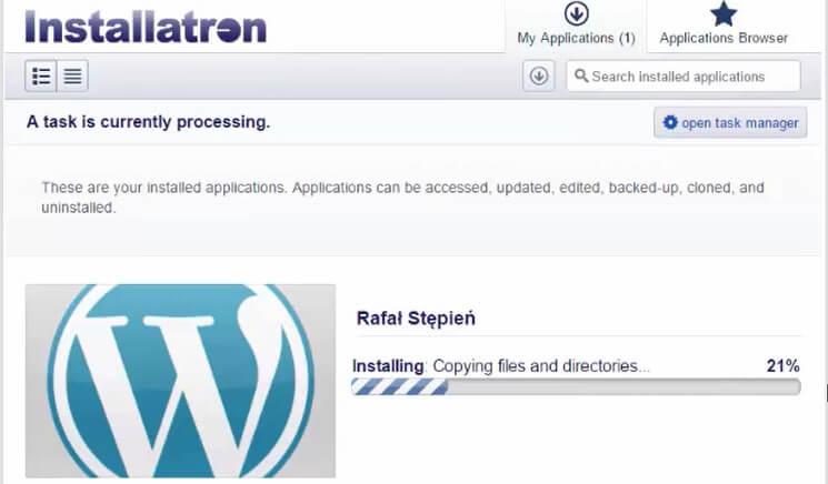 jak zrobić bloga ktory zarabia instal wordpress