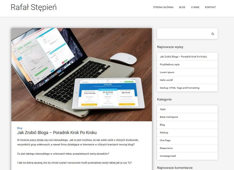 jak zrobić bloga ktory zarabia pierwszy wpis15