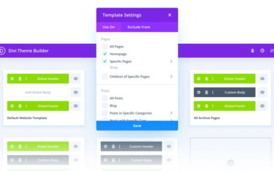 Divi Theme Builder – Nowe Narzędzie w Divi 4.0 – Tutorial
