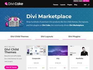 divi cake market